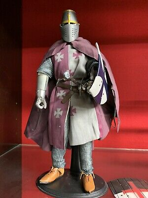 Light Brown Male Gloved Hand Set 1//6 Scale Toy Crusader Knights Type 2