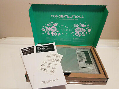 Greater Goods Nourish Nutrition Food Scale * SIlver Model 0451 * NEW Open Box