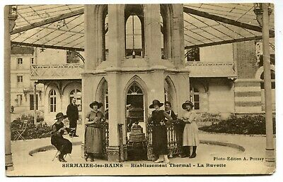 CPA - Carte Postale - France - Sermaize les Bains - Etablissement Thermal