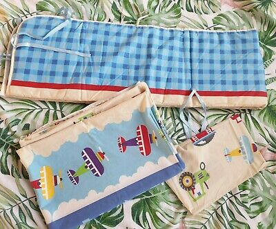 2x Baby cot bed bedding sets