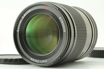 【 NEAR MINT 】 Contax Carl Zeiss Sonnar T* 140mm f/2.8 AF Lens For 645 from JAPAN