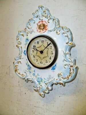 Ansonia China Wall Clock  Porcelain No 4 Variant