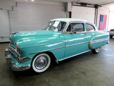 1954 Chevrolet Bel Air/150/210  1954 Chevrolet Bel Air  500 Miles turquoise  Select Manual