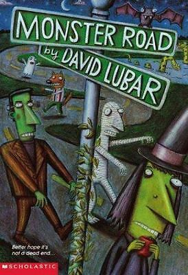 Monster Road by Lubar, David , Paperback