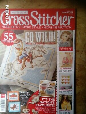 Cross Stitcher magazine, issue 275 Feb 2014