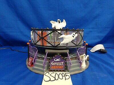 Lemax Spooky Town Ghost Around #74221 As-Is SS0095