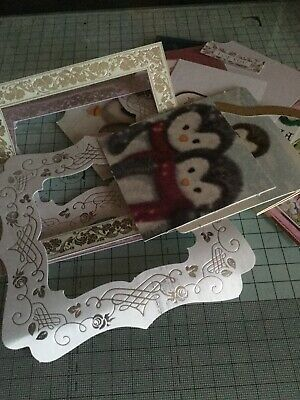 Craft room Clear Out A Very Large Assortment of Toppers and Sentiments.
