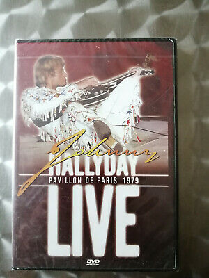 Dvd Johnny Hallyday - Live Pavillon De Paris 1979 - Neuf Emballe -