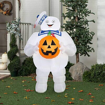 5 Ft GHOSTBUSTERS STAY PUFT MARSHMALLOW MAN Airblown Yard Inflatable