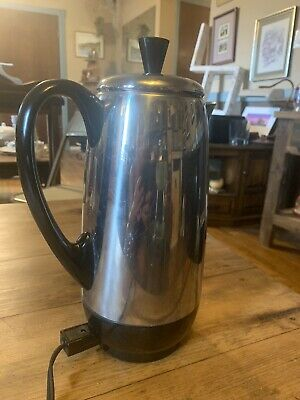 VINTAGE Farberware Stainless Steel 12 Cup Superfast Coffee Percolator Excellent