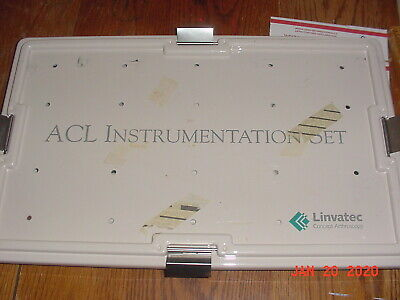 LINVATEC ACL Instrumentation Set various Orthopedic reconstruction instruments