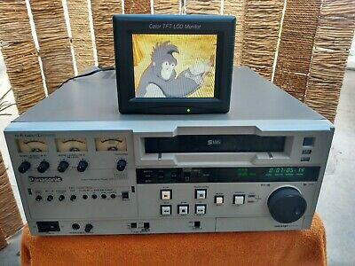 Panasonic AG-7650-P Professional Broadcast Video Cassette Recorder SVHS