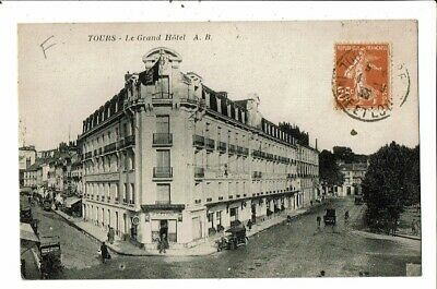 CPA-Carte postale- France- Tours- Le Grand Hôtel VM17341