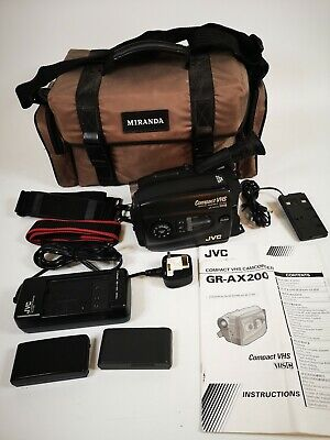 Camcorder JCV Compact VHS GR-AX-200 ***please read***