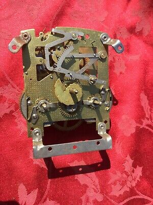 Smiths 2 Train Striking Clock Movement For Spares Or Repair Good Springs