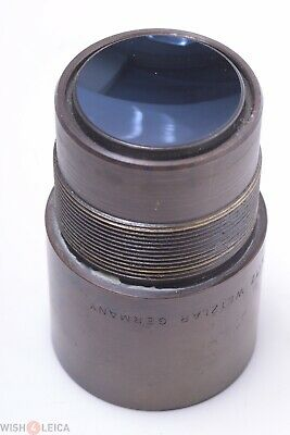 Leica, Leitz Microscope Illumination Part? Red Filter Lens 36Mm Thread Diameter