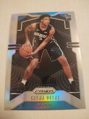 Chuma Okeke 2019-20 Panini Prizm Silver Refractor Rc Rookie #262 Magic