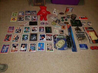 Junk Drawer Collectible Lot - Baseball Cards, Sealed Items!