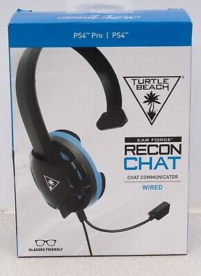Turtle Beach - Recon Chat Wired Mono Gaming Headset for PS4, PS4 Pro