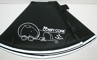 The Original Comfy Cone Soft Pet Recovery Collar w/Removable Stays - Small Long