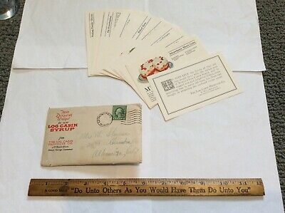 Vintage Log Cabin Syrup Recipes from 1910 -20 (Very Rare)