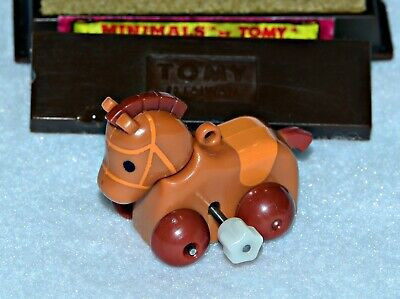 "Tomy Minimals Wind-Up Toy ""Hilde The Horse"" 1982"