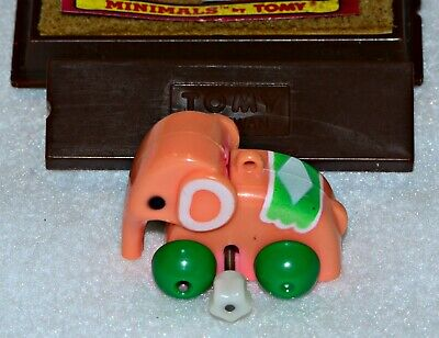 "Tomy Minimals Wind-Up Toy ""Egor The Elephant"" 1982"