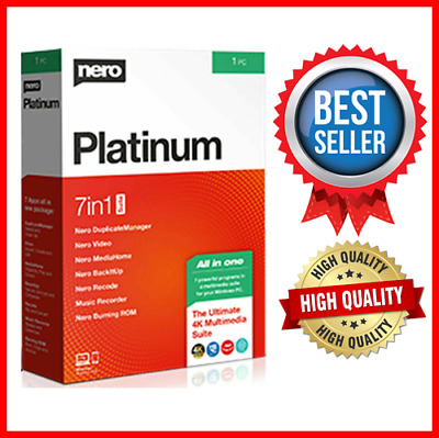 Nero Platinum 2020 ✔️Full Version ✔️LifeTime for ✔️Windows✔️