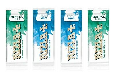 NEW! 4 packs of Rizla infusions cool mint flavour only. Beat the menthol ban!
