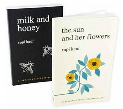 'Milk and Honey' & 'The Sun and Her Flowers' by Rupi Kaur (2 eBooks) New Version