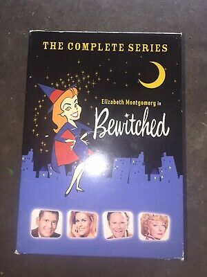 Bewitched Complete Series Dvd Set All Seasons Color