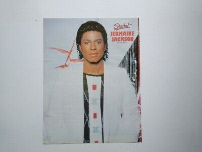 Jermaine Jackson cutting clipping Sweden