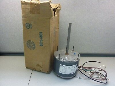 Fasco D7909 Condenser Fan Motor 1/4 HP 208-230V 1075RPM 1 Speed 1.8A (20641)