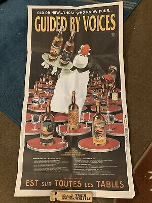 Guided By Voices poster Hardcore UFOs, Wine Bottles