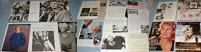 VANESSA REDGRAVE 44x Clippings 1972-recent