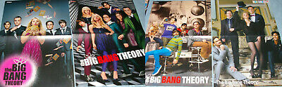 The Big Bang Theory Tv Show + Cast 81x Clippings Cover Pinups