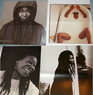 WHOOPI GOLDBERG 96x Clippings