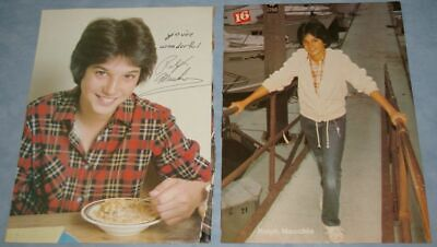 RALPH MACCHIO 40x Clippings Pinups 1980s-recent