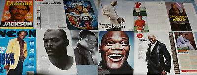 SAMUEL L JACKSON 171x Clippings Covers Card Postcard