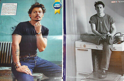 JOHNNY DEPP 115x Clippings Cover