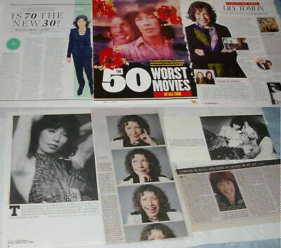 LILY TOMLIN 33x Clippings