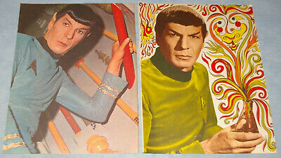 LEONARD NIMOY Spock 71x Clippings Pinups 1960s-recent