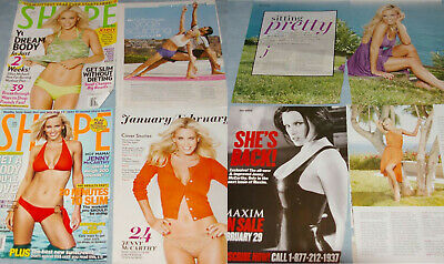 JENNY McCARTHY 95x Clippings Covers  incl nude/naked
