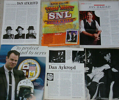 DAN ACKROYD 99x Clippings Cover 1970s-to-recent