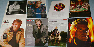 DENIS LEARY 130x Clippings Covers early1990s-recent