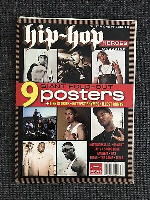 Hip-Hop Magazine - 9 Giant Fold-out Posters