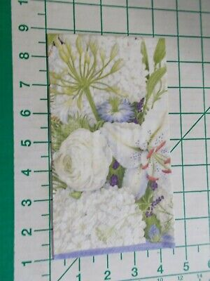 "Two Decorative Luncheon Napkins for Decoupage /""Loving Snowman/"" 2-ply"