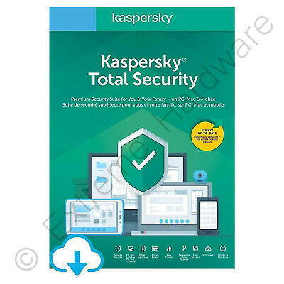 Kaspersky Total Internet Security Multi Device 2020 3 Users 1 Year Key Download