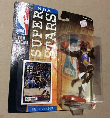 RARE VHTF! Kobe Bryant Lakers NBA Court Collection Superstars 99//00 Figure
