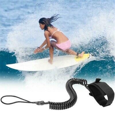 Paddle Board Leine Coiled Leg Fußseil Stand UP Surfboard String 300cm